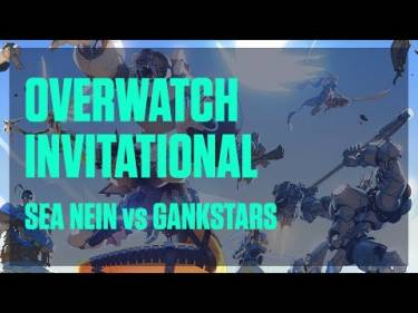 Valiance - Overwatch Invitational - Sea Nein vs GankStars