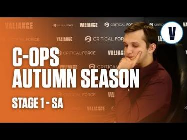 Critical Ops - Autumn Season - Stage 1 - SA