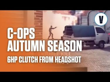 Critical Ops - 6HP Clutch From Headshot