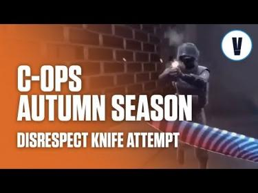 Critical Ops - Disrespect Knife Attempt