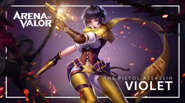 top 5 best arena of valor heroes february 2018 - Valiance