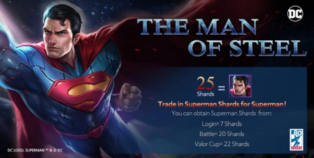 Get your free superman aov event valiance you can attain these tokens in multiple ways depending on what suits your needs and how you play the game voltagebd Image collections